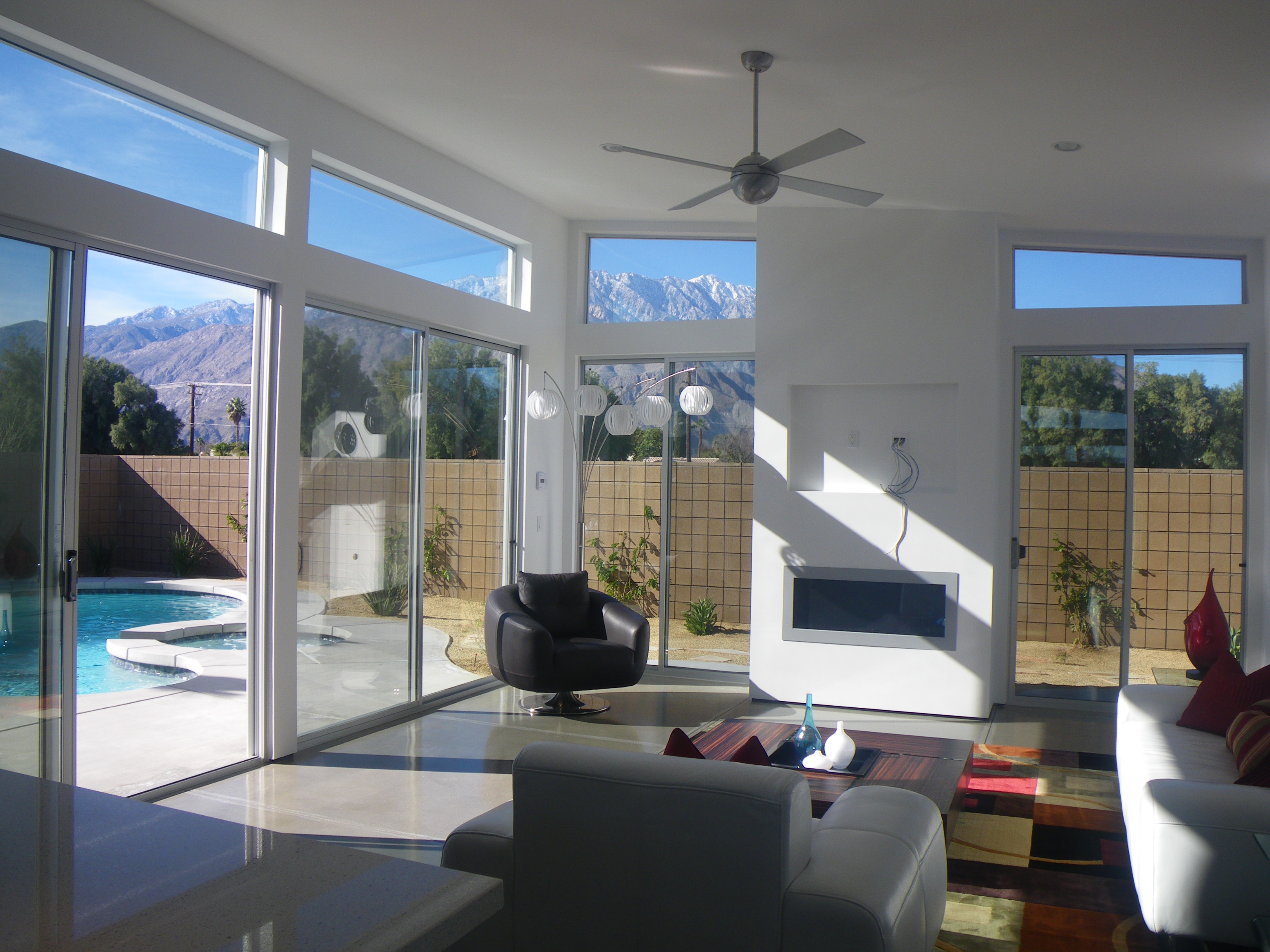 Palm springs new mid century homes live from la quinta for Clerestory windows cost